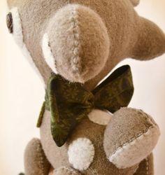 Art Toy My Dear Deer by MarieChou on Etsy