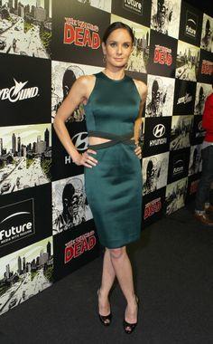 Actress Sarah Wayne Callies