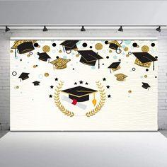 Graduate Photography Fund For Graduation Graduates End Of Course - Graduation Party Desserts, Graduation Cupcake Toppers, Graduation Crafts, Preschool Graduation, Graduation Decorations, School Decorations, Classroom Crafts, Preschool Crafts, Blue Party Decorations