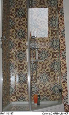 Mosaic del sur hidr ulicos pinterest mosaics retro - Mosaic del sur tiles ...