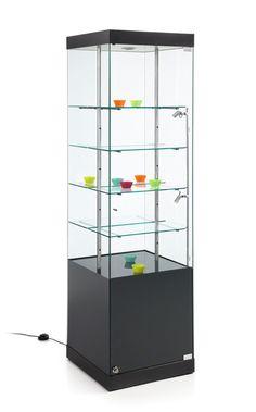Vislum - vitrina expositora MARTINA (50x50x180)