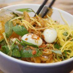 Vietnamese Recipes – Rice Paper Salad – Banh Trang Tron