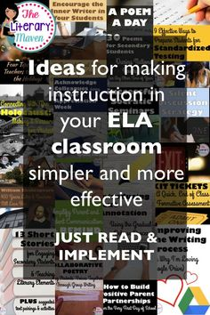 Looking for fresh teaching ideas and resources for your English Language Arts middle school or high school classroom? Search no further than The Literary Maven, a blog written by a high school ELA teacher specializing in reading interventions. Read on for easy to implement ideas to make instruction in your classroom simpler and more effective.