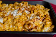 Butternut Squash Mac and Cheese. I'm not sure how this would taste...but I totally want to try it!