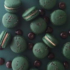 junior mint #macarons #jennaraecakes