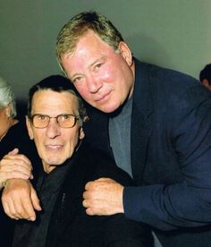As Spock & Kirk they are forever young xx