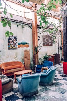 Welcome to Le Comptoir Général— some serious jungaliciousness in Paris.My cousin Keenan, knowing my passion for wild decor, took me to visit this spot. She has been living in Paris for the last five years and I probably would have never discovered this place if it weren't for her because it's off the beaten path. …