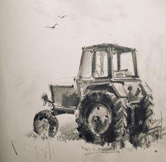 Tractor, Sketch