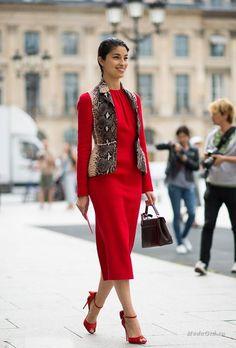 Уличная мода: Стиль Кэролайн Исса
