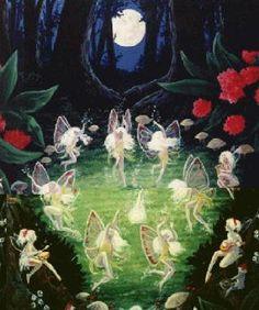fairies dancing on midsummers eve
