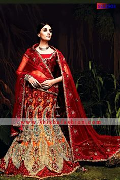 OUTSTANDING MAROON COLOR SOFT NET FABRIC LEHENGA CHOLI | Shisha Fashion