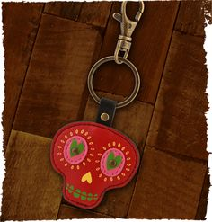 """""""Onyx Keychain"""" from the new Fall Karma collection. Boho inspired. Prairie Patches, Lawrence, KS, (785)749-4565."""