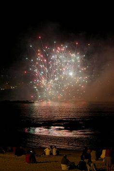 Batalla naval: María Pita vence a Drake. A Coruña. Galicia. Spain.
