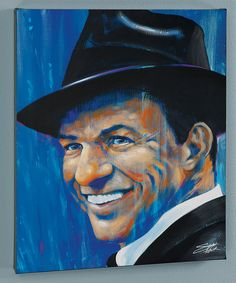 Look at this Stephen Fishwick Old Blue Eyes Limited Edition Wrapped Canvas on #zulily today!