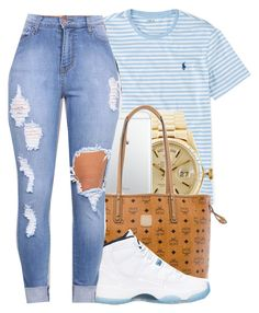 """""""Untitled #493"""" by jawnnsowavyy2 on Polyvore featuring Ralph Lauren, Rolex, MCM and Retrò"""