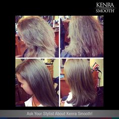 It's time to book your Kenra Smooth appointments and get your hair ready for fall!  Work by Karen Mahon.