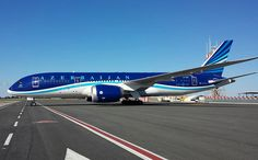 Azerbaijan Airlines Boeing 787-8 Dreamliner (registered VP-BBS)