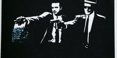 Here's Every 'Pulp Fiction' Reference That Appears in 'Breaking Bad' Pulp Fiction, Breaking Bad, Trek, Screen Printing, My Arts, Art Prints, Artwork, Fictional Characters, Etsy