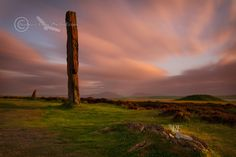 Ring of Brodgar Sunset. LE#2. Stenness. West Mainland. Orkney. Scotland.