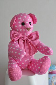 Ursinho rosa