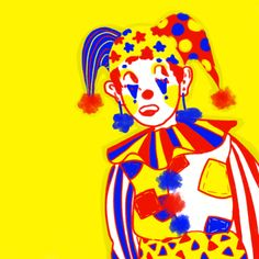 Discover recipes, home ideas, style inspiration and other ideas to try. Joker, Arte Punk, Cute Clown, Pierrot, All I Ever Wanted, Pretty Art, Wall Collage, Art Inspo, Primary Colors