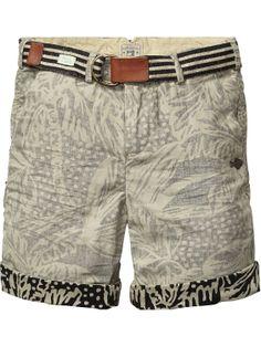 Allover printed shorts | Short pants | Boys Clothing at Scotch & Soda