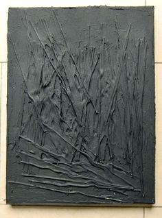Acrylbild Leinwand 40 x 30 x 2 tiefe Strukturen von BeGehrLich