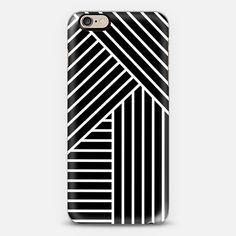 White stripes phone case