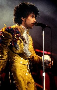 Prince on stage during the Purple Rain tour, Nassau Coliseum, 30 years ago this week.