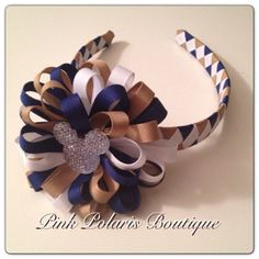 Uniform Mickey Woven Headband with by pinkpolarisboutique on Etsy, $12.50