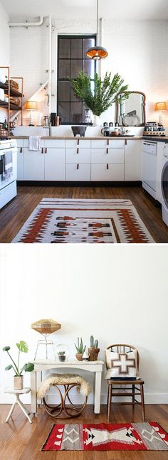 Vintage Modern Decor with Southwestern Rugs | Rugs Direct