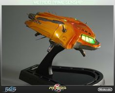 Metroid Prime Orange Gunship Statue by PBM Express USA LLC. Save 8 Off!. $299.93. Limited to 750 pieces. Individually numbered. From the Manufacturer                Introducing the Metroid Prime Gunship by First 4 Figures. We are proud to be continuing our Metroid Gunship Series with the Gunship featured in Metroid Prime and Metroid Prime Hunters. Samus Aran's Gunship in Metroid Prime is capable of inter-galactic flight, has antigravity landing pods and is battle ready. If batt...