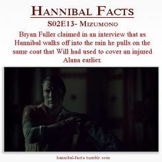 Hannibal Facts (he just wanted a piece of Will with him) Hannibal Funny, Hannibal Tv Series, Nbc Hannibal, Hannibal Lecter, Hannibal Characters, Will Graham, Bryan Fuller, Hugh Dancy, Series Movies