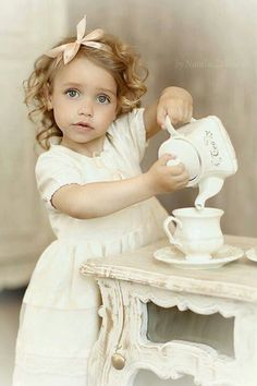 Tea Time for little girls.