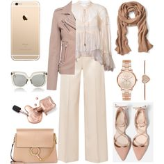 How To Wear #Nudes Outfit Idea 2017 - Fashion Trends Ready To Wear For Plus Size, Curvy Women Over 20, 30, 40, 50