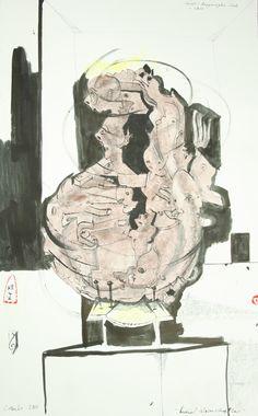 Knäul Wissenschaften 2010 44,5 x 69,5 cm Anfragen an: Werkeverwaltung Carlo Cazals, Britta Kremke, management@carlocazals.com