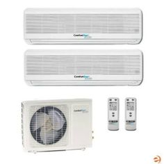 CMO18B+CMI09B+CMI12B Dual Zone Wall Mounted Mini Split Heat Pump - 21 by ComfortStar. $2046.95. ComfortStar CMO18B+CMI09B+CMI12B Dual Zone Wall Mounted Mini Split Heat Pump - 21,000 BTU ComfortStar Multi Zone Mini Split Heat Pumps are designed to bring daily comfort into every facet of your life. Whether in a residential or commercial area, ComfortStar Ductless Mini Split Heat Pumps are there to ensure a pleasant environment, regardless of the outside temperat...