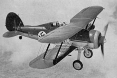 Håkans Aviation page - Latvian Air Force use of the Gloster Gladiator during the Second World War Ww2 Aircraft, Military Aircraft, Finland Air, Vintage Air, Air Ride, Historical Pictures, Luftwaffe, World War Two, Wwii