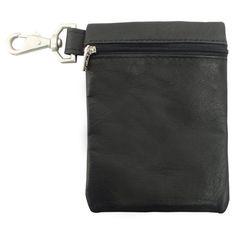 Piel Leather Valuable Pouch, Black, One Size *** Review more details @