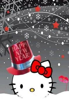 9 Great Hello Kitty January Winter Images Xmas Drawings