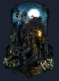 Bloodborne - The Hunt by EllipticLeaf.deviantart.com on @DeviantArt