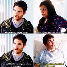 Peter, Danny and Mindy #TheMindyProject