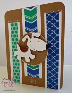 Boys will be Boys Cricut Cartridge - made by Cool Beans by L.B.: Mix & Match with Fantabulous Cricut Challenge #195