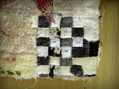 Jude at Spirit Cloth blog is an artist deluxe.  Her art quilt pieces are beautifully textured. Exquisite!