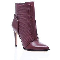 Bootie #boot #shoes #topuklubot #deri #leather #bordo #klasik #moda #fashion #bot #bootie #topuklubot #siyahbot #ayakkabı #rahatbot #trend