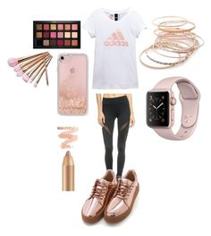 Feeling rosy by maddisonb78 on Polyvore featuring polyvore, fashion, style, adidas, Michi, Red Camel, Rebecca Minkoff, Huda Beauty and clothing