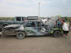 Demolition Derby, Digger, Monster Trucks, Racing, Auto Racing, Lace