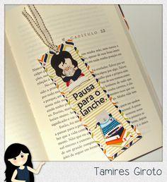 Scrapbook by Tamy- DIY, Coisas fofas e tudo sobre Scrapbook artesanal, híbrido e digital!: Marca página fofo
