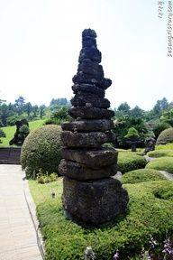 Botanical Garden in Jeju Island, Korea