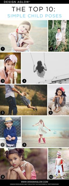 The Top 10: Simple Child Poses #designaglow